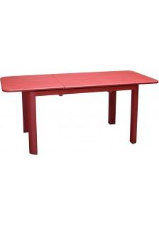 Table ALUMINIUM EOS ROUGE