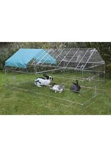 Enclos extérieur pour lapin...