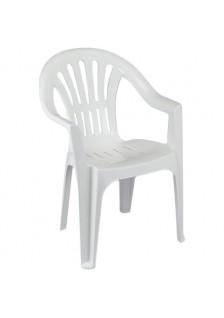 Chaise resine blanche elba