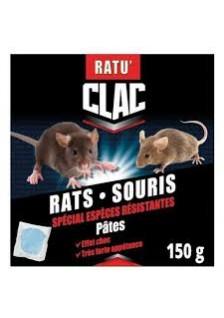 Rat souris pate 150g