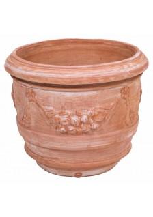 Vase barile festonato