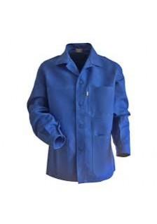 Veste coton bleu