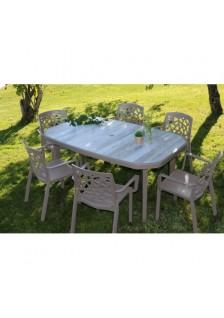 Table résine nordic