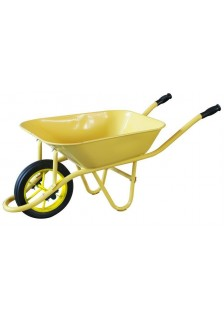 Brouette 90L easy jaune