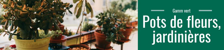 Pot de fleurs, jardinière, poterie décorative